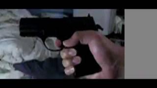CROSMAN PRO77 shooting with slow motion