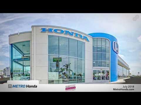 Metro Honda - July Lease Specials