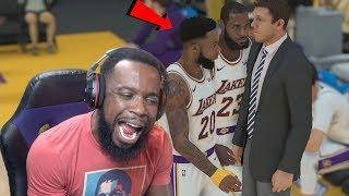 Me and Lebron Want Luke Walton Fired! NBA 2K19 MyCareer Ep 35