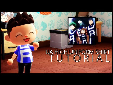 UA Academy Uniform Tutorial - Animal Crossing: New Horizons