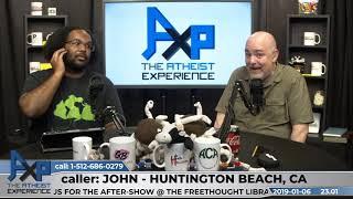 Intelligent Design Evidence | John - CA | Atheist Experience 23.01
