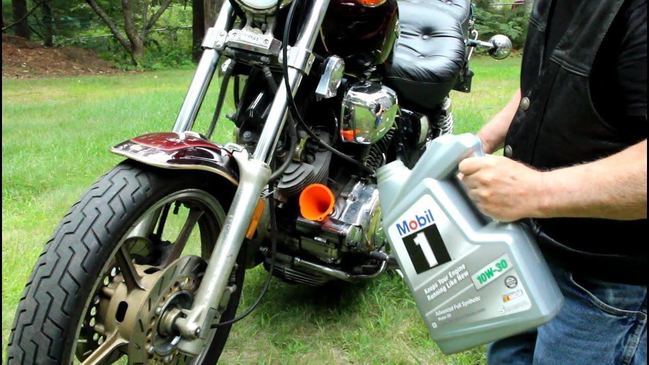 Quick Yamaha Virago 1100 Oil Change