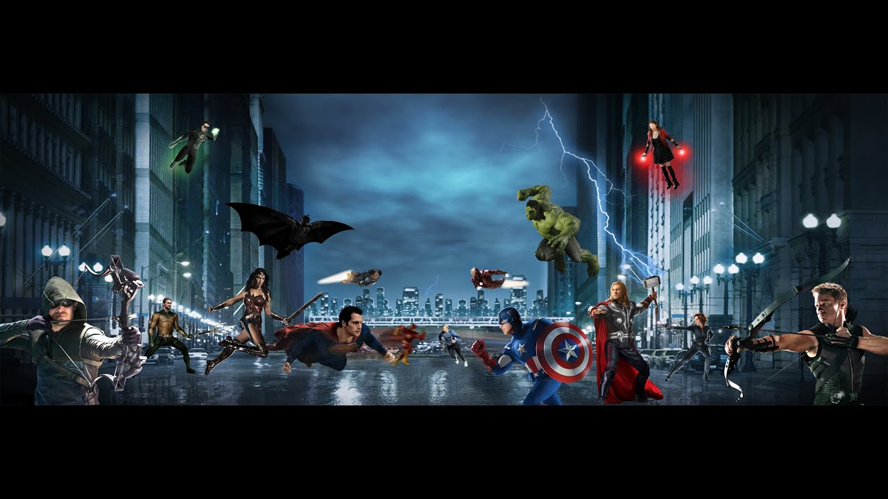 marvel vs dc trailer part iii youtube