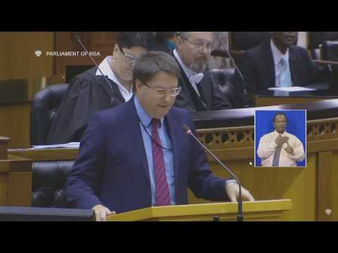 DA MP David Maynier on the ANC's humiliating defeat in Parliament