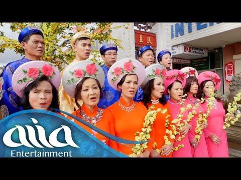 Ly Rượu Mừng (Phạm Đình Chương) - Hoàng Quân & Ban Hợp Xướng Lê Văn Khoa | Asia Tết Bolsa 2018