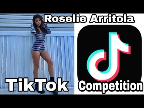 Roselie Arritola.TikTok competition