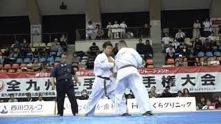 2018年11月25日、鹿児島県体育館にて開催された第32回全九州空手道選手...