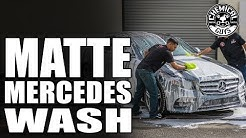 How To Properly Wash Matte Finishes - Chemical Guys Car Care