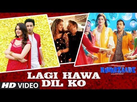 Lagi Hawa Dil Ko Video Song | NAWABZAADE | Raghav Juyal, Punit J Pathak, Isha Rikhi, Dharmesh