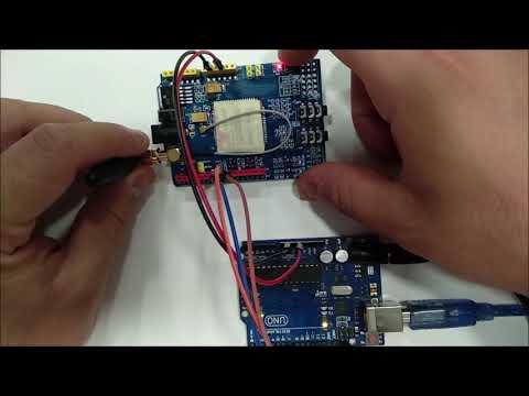 SIM900 GPRS Llamar Y Enviar Sms