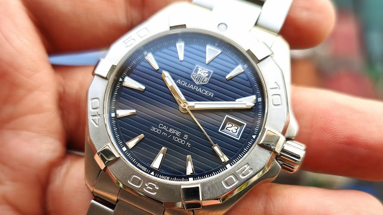 [Review Đồng Hồ] Tag Heuer Aquaracer WAY2112.BA0928 | ICS Authentic