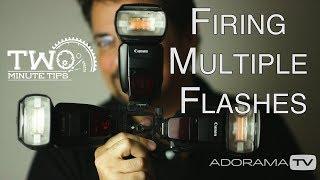 Multi-Flash Firing: Two Minute Tips with David Bergman