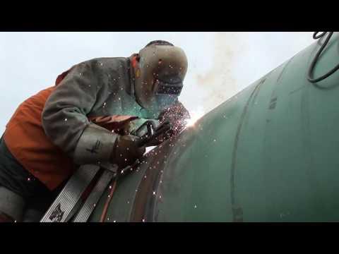 Pipeline Welding - 48 Inch Section Work