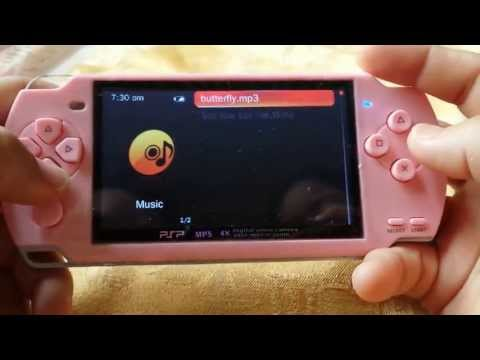 Chinese Psp multimedia player 626 games