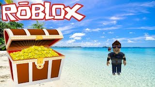 ROBLOX - We become Treasure Hunters - TREASURE HUNT SIMULATOR