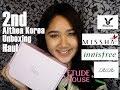 2ND ALTHEA KOREA Unboxing Haul | sharleen garcia
