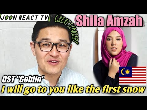 Korean react to  I Will Go to You Like the First Snow by Shila Amzah Goblin OST 첫눈처럼 너에게 가겠다-Ailee