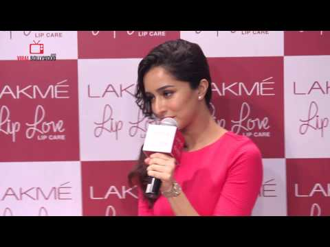 Question Answer Session with Shraddha Kapoor | Lakme Lip Love