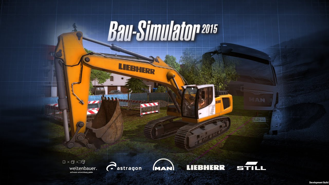 bau construction simulator 2015 liebherr gro er bagger. Black Bedroom Furniture Sets. Home Design Ideas