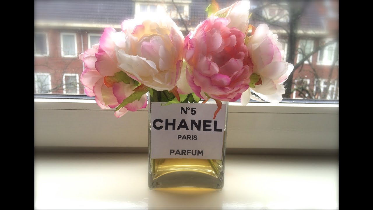 LABELSTYLE DIY CHANEL VASE DECOR YouTube