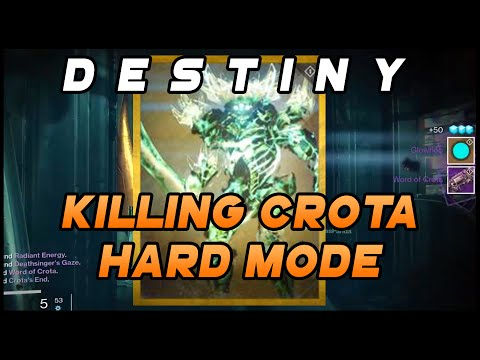Destiny - Killing Crota Hard Mode + New Shader Glowhoo