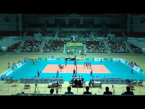 Petron Blaze Spikers (PHI) vs April 25 Sports Club (PRK) Set 1