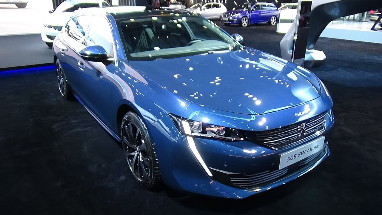 2019 peugeot 508 sw allure - exterior and interior - paris auto show