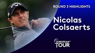 Nicolas Colsaerts Highlights | Round 3 | 2019 Amundi Open De France