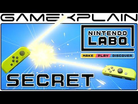 Secret Lightsabers in Nintendo Labo! (Variety Kit Easter Egg)