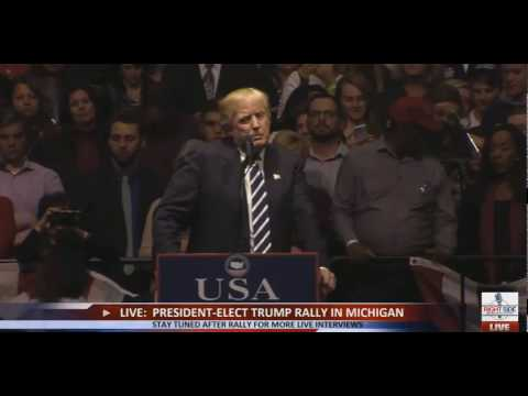 "Donald Trump, ""Buy American Hire American,"" Grand Rapids, MI, 12/9/16"