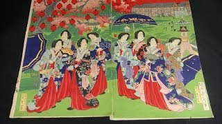 Japanese Art ukiyoe shunga bijinga 浮世絵 春画 美人画