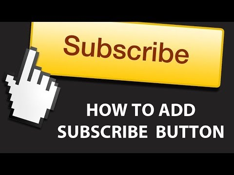 How to add youtube Embed subscribe button in website or blog guide 2017