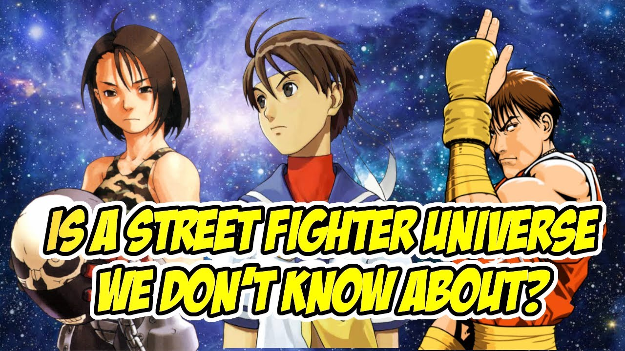 Games in the Street Fighter Universe Explained