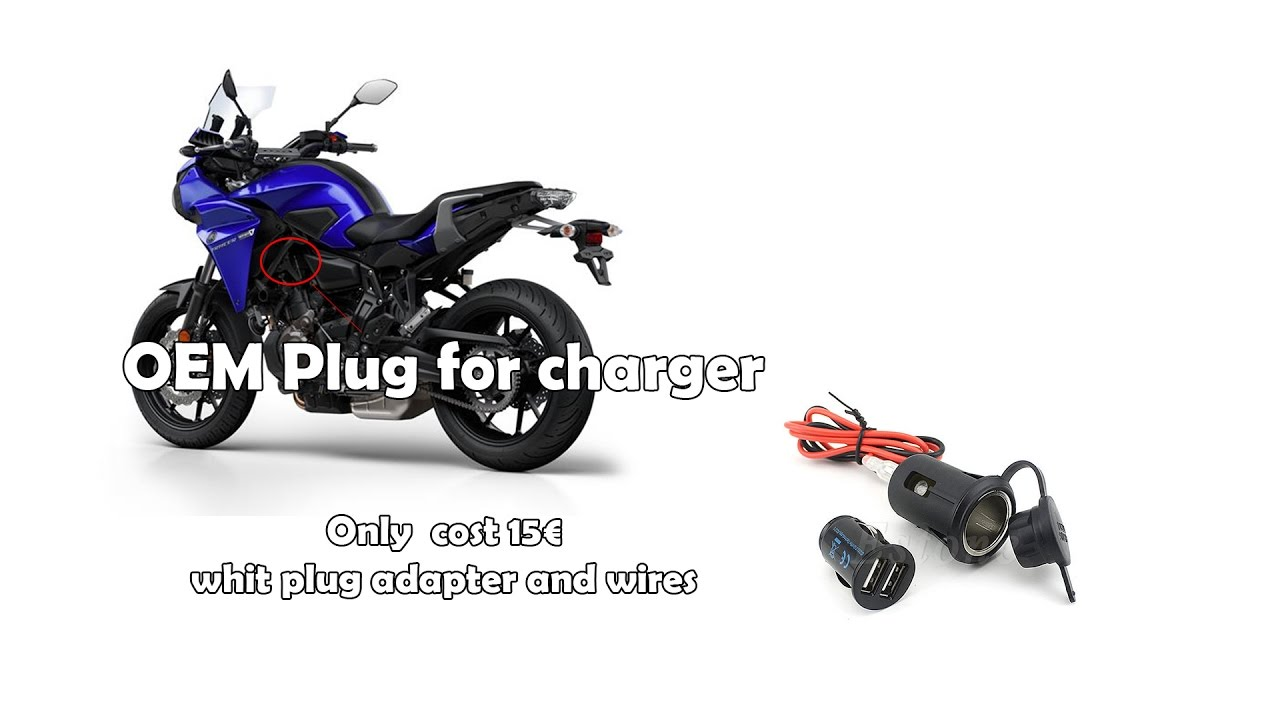 Yamaha Tracer 700 Install Usb Charger Youtube 12 Volt Dc Wiring