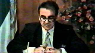 Prime Minister A.R. Ghafoorzai Speech to the Nation in Dari, Afghanistan, Aug 13, 1997 part 4.