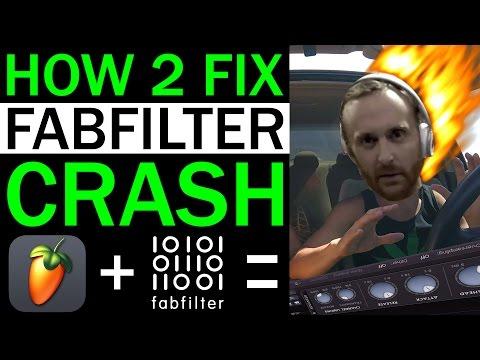 HOW TO FIX FABFILTER CRASH IN FL STUDIO (GRAPHICS ACCELERATION)