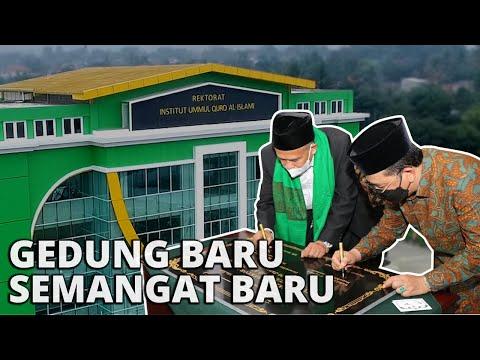 PERESMIAN!!! Gedung Baru Institut Ummul Quro Al-Islami