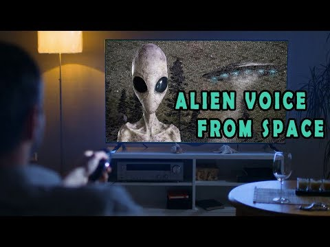 ALIEN 'Voice From Space' INTERRUPTS TV Broadcast: Was it a Hoax?