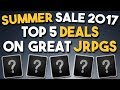 Steam Summer Sale 2017 - Top 5 Deals on JRPGs