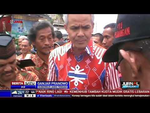 Sidak ke Pasar, Ganjar Klaim Stok Beras di Jateng Mencukupi