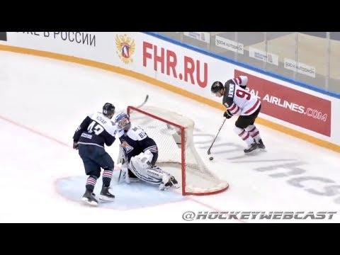 Mason Raymond Lacrosse Goal vs Metallurg - Sochi Open 2017 (HD)