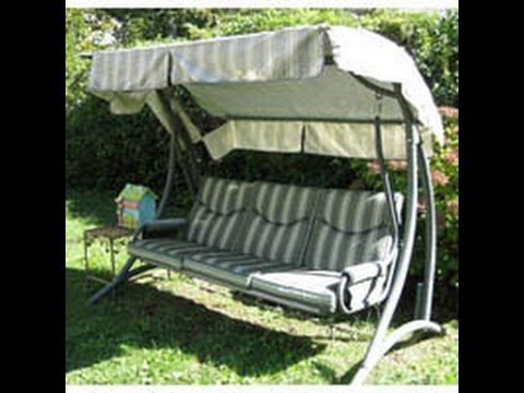 Fortunoff Patio Swing Cushions Seat Support and Canopy Fabric Replacement & Fortunoff Patio Swing Cushions Seat Support and Canopy Fabric ...