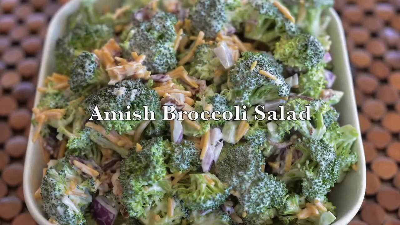 Yoder's Broccoli Salad Recipe