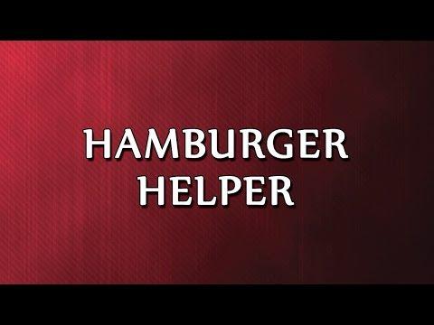 Hamburger Helper | RECIPES | EASY TO LEARN