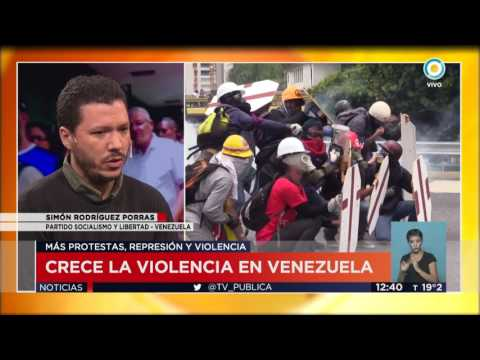 TV Pública Noticias - Crece la violencia en Venezuela