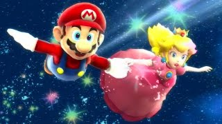 Super Mario Galaxy HD - All Castles