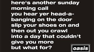 Video Sunday Morning Call Oasis