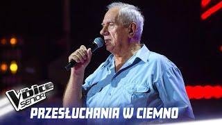 """Kazimierz Kiljan - """"Gdzie się podziały tamte prywatki"""" - Przesłuchania w ciemno - The Voice Senior 1"""