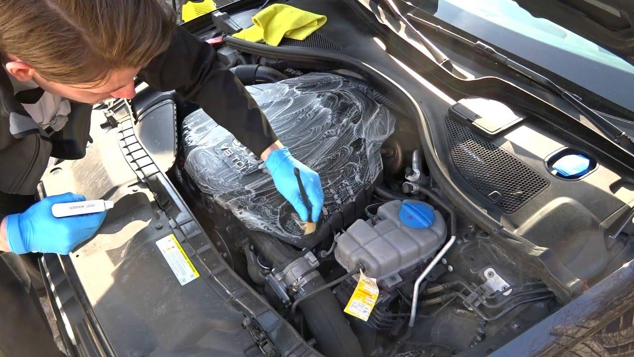 Motorwäsche ohne Risiko - Motorraumreinigung // AUTOLACKAFFEN ...