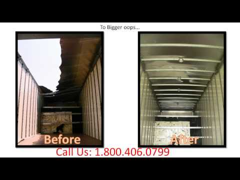 1 800 406 0799 Commercial Cargo Box Truck Body Repair